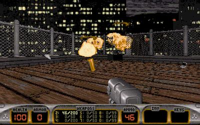 Duke Nukem 3D is rich with