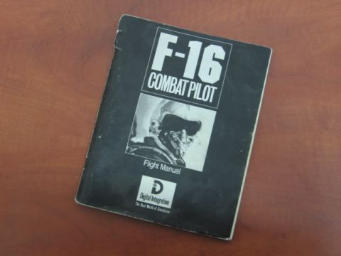 DOSBox multiplayer F-16 manual