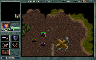 DOSBox mutliplayer Warcraft game 2