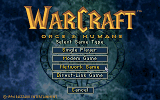 DOSBox multiplayer Warcraft setup 1