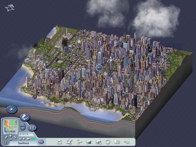 My SimCity 4 region is complete!