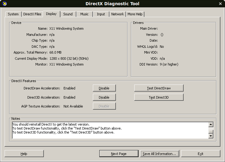 How to install DirectX in Linux using Wine