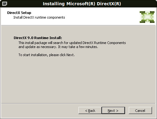 descargar directx 9.0 c para windows vista