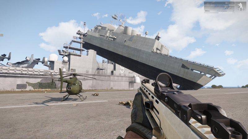 Goofing around in ArmA 3