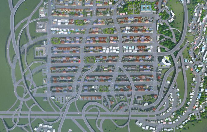 how to connect highways to roads cities skylines
