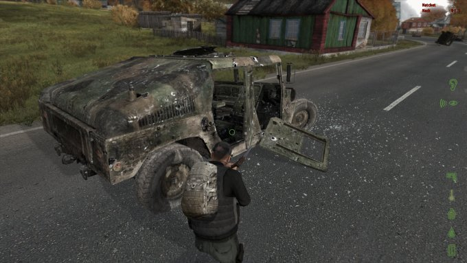 Ruined vehicle
