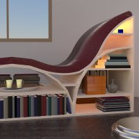 Chaise Lounge design icon