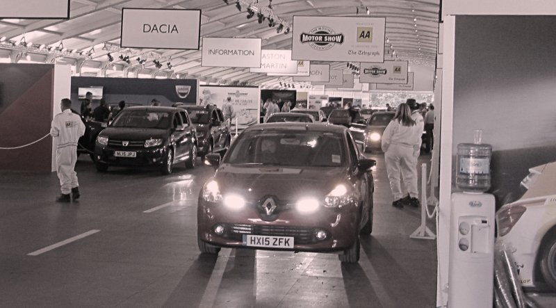 Clio in the pits