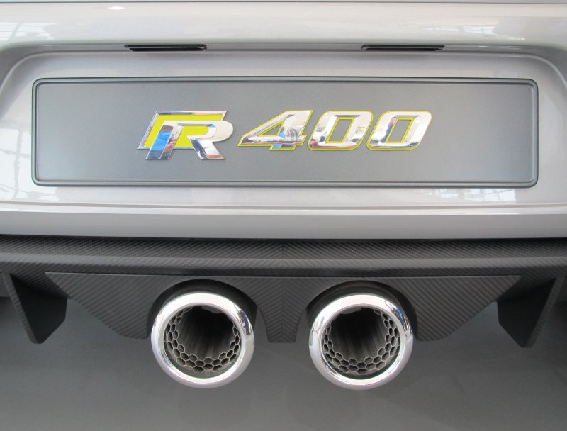 Golf R exhausts