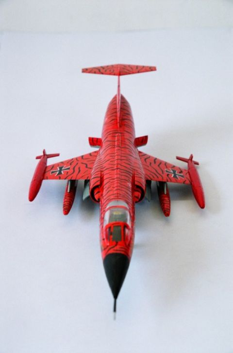 F-104 front