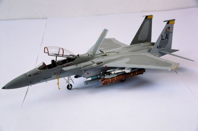 F-15 left front