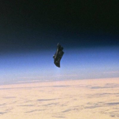 The Black Knight satellite - Nope, not aliens